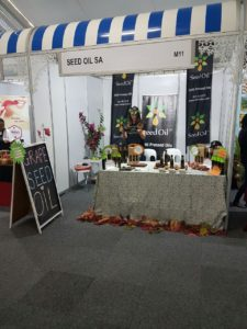 Stand at festival