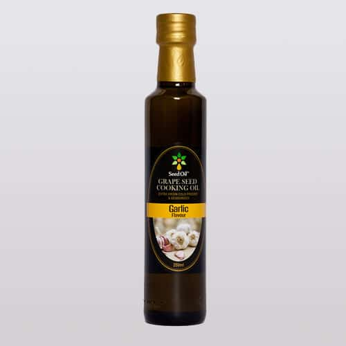Garlic-Grape-Seed-Oil-Product